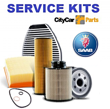 SAAB 9-3 1.8 16V ->3515366 OIL FUEL CABIN FILTER PLUGS 2003-2005 SERVICE KIT